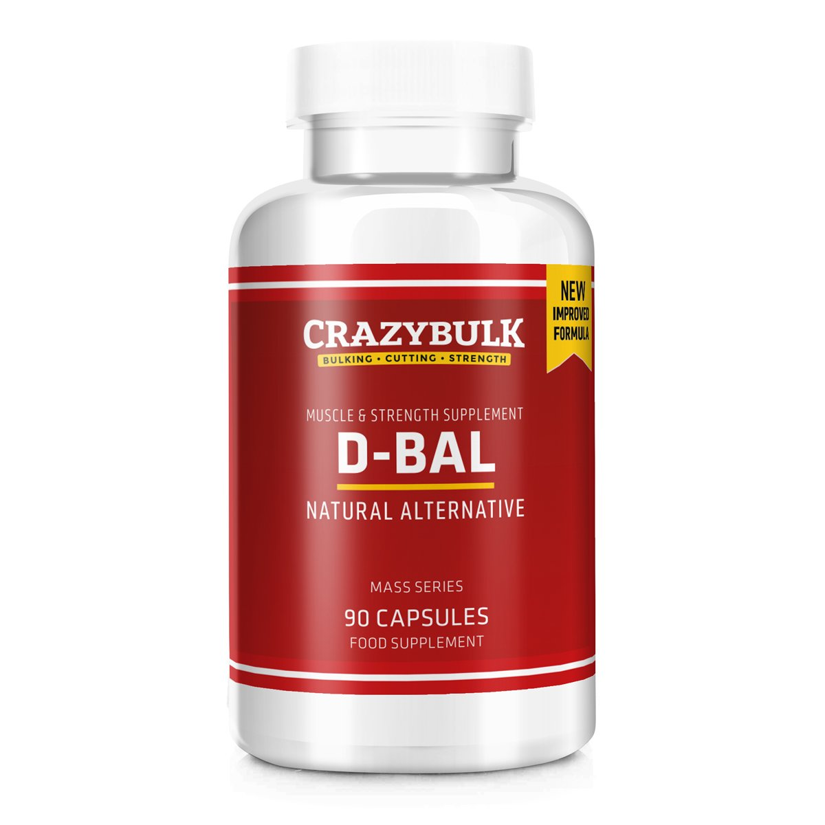 Mind-Blowing CrazyBulk D-Bal Review: #1 For Mass & Strength?